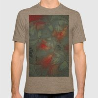 String Theory Fractal Art Mens Fitted Tee Tri-Coffee SMALL