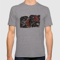 Crow Mouth Mens Fitted Tee Athletic Grey SMALL