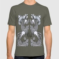 Vultures And Crows Mens Fitted Tee Lieutenant SMALL