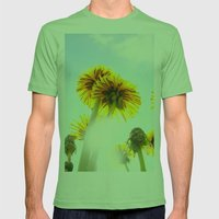 Dandelion Mens Fitted Tee Grass SMALL