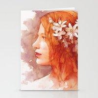 Flower Scent Stationery Cards