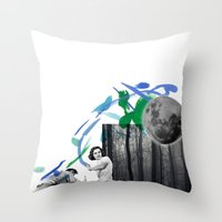 STRANGER Throw Pillow