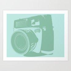 Bluegrass Braun Camera Art Print