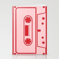 Cassette Tape Stationery Cards