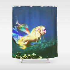 Mermaid Valley part I Shower Curtain
