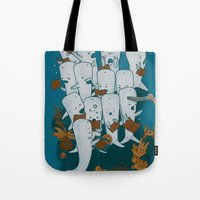 Whale songs Tote Bag