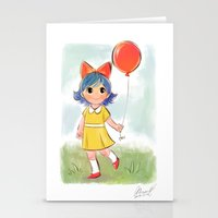 balloon makes a day Stationery Cards