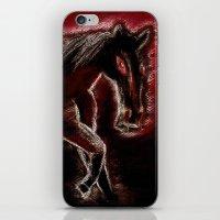 Phantom horse iPhone & iPod Skin