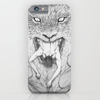 iPhone & iPod Case featuring The Giant Winged Lion by miguel ministro