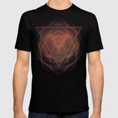 Syyrce Black SMALL Mens Fitted Tee