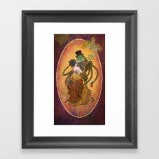 Steam Tale Framed Art Print
