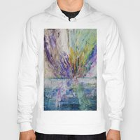 Live life to the fullest - abstract painting Hoody