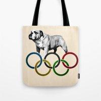 British Bulldog - Olympics London 2012 Tote Bag