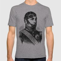 BDSM XXII Mens Fitted Tee Athletic Grey SMALL