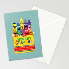 Color Me Sesame Stationery Cards