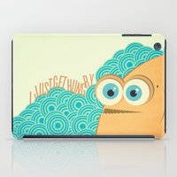 i just get hungry iPad Case