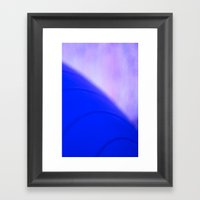 Blue Planet Framed Art Print