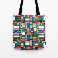 Map Outline Tote Bag