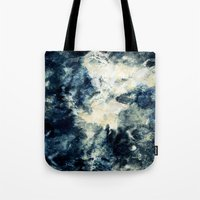 Drowning In Waves Textur… Tote Bag