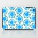 Vintage Flower_Turquoise iPad Case