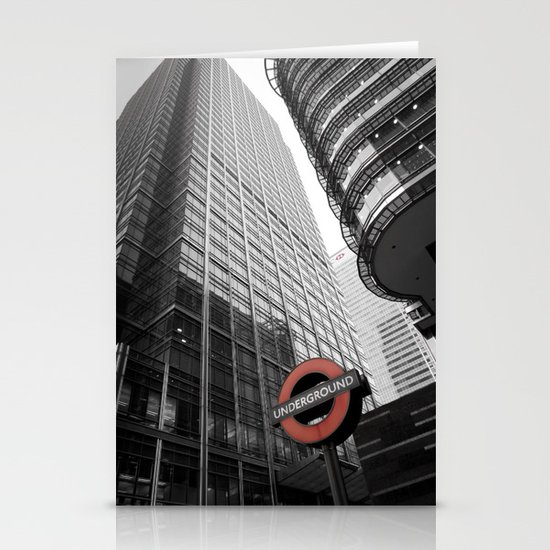 Canary Wharf  Stationery Card