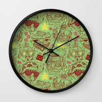 Have A Hipster Christmas… Wall Clock