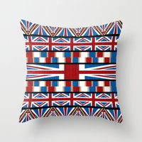 This Is England Throw Pillow