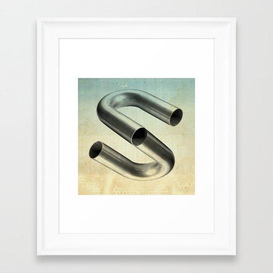 impossible tubes Framed Art Print