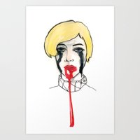 Pain - The Look When You… Art Print