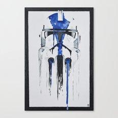 A blue hope 1 Canvas Print