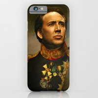 iPhone & iPod Case featuring Nicolas Cage - replaceface by replaceface