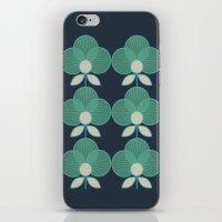 MCM Trois en Aqua iPhone & iPod Skin