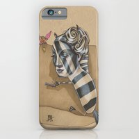 iPhone & iPod Case featuring ZEBRA MAMA  by busymockingbird