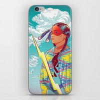 Thunder Woman iPhone & iPod Skin