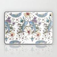 Narwhal Pattern Laptop & iPad Skin
