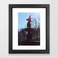 Stand Still in the City Framed Art Print