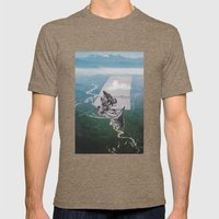 Set Sail Mens Fitted Tee Tri-Coffee SMALL