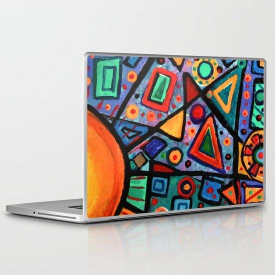 Abstract Sun Laptop & iPad Skin