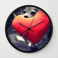 Puppy Love Wall Clock