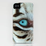 WHITE TIGER BEAUTY iPhone (4, 4s) Slim Case