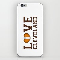 LUV Cleveland iPhone & iPod Skin