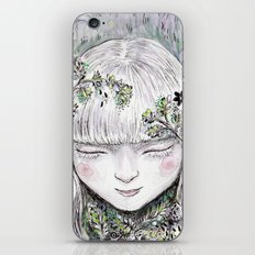 Mother Earth was a child once iPhone & iPod Skin