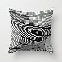 Mid-Century Mod Throw Pillow