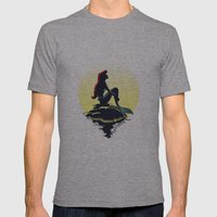 Mermaid Mens Fitted Tee Athletic Grey SMALL