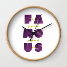 Famous Wall Clock