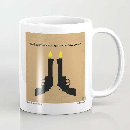 No071 My Rocknrolla minimal movie poster Mug