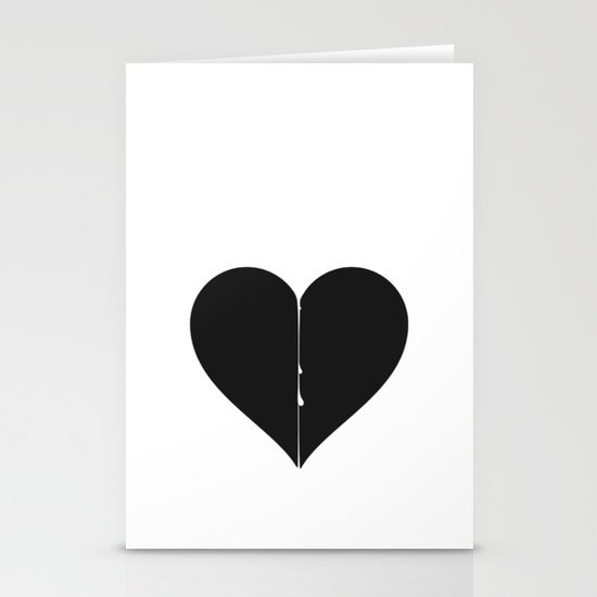 Love hurts Stationery Card