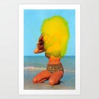 Untitled (Bikini) Art Print