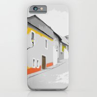 iPhone Cases featuring Town Street by Roberto Vizzuett