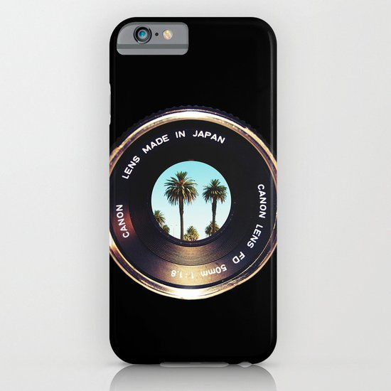 focus on palms iPhone & iPod Case